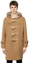 Burberry Hooded Wool Cloth Duffle Coat