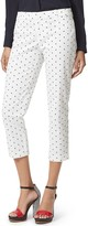 Tommy Hilfiger Final Sale-Diamond Print Crop Pant