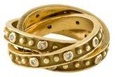 Ring 14K Diamond Rolling