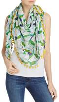 Tory Burch Laguna Oversized Square Scarf
