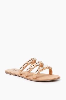 Matisse Tan Resort Shell Sandals