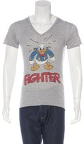 Dolce & Gabbana Donald Duck Fighter T-Shirt