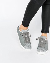 Missguided Glitter Sneakers