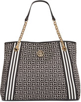Tommy Hilfiger TH Monogram Jacquard Tote