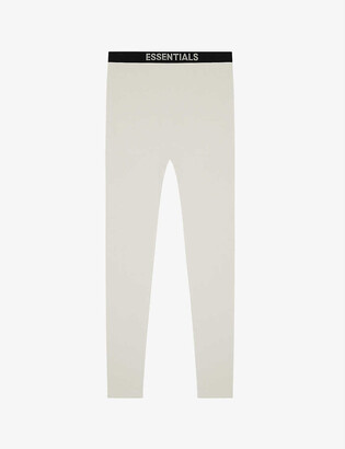 Fog X Essentials ESSENTIALS Thermal cotton waffle-knit trousers
