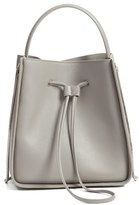 3.1 Phillip Lim 'Small Soleil' Leather Bucket Bag - Grey