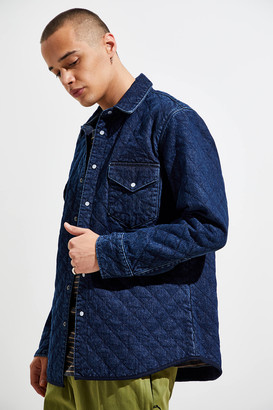 Levi's Levis Made & Crafted Quilted Western Button-Down Shirt
