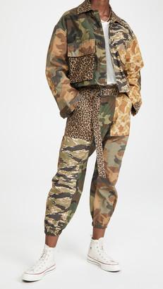 R 13 Abu Cropped Jacket