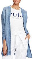 Polo Ralph Lauren Linen-Blend Cardigan