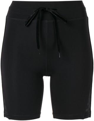 The Upside Spin velvet shorts