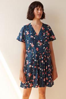 Des Petits Hauts Flower Printed Dress - T2