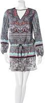 Clover Canyon Ornate Print Long Sleeve Dress w/ Tags