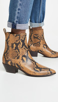 Aylin Low Western Booties With Gore
