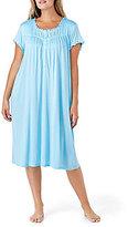 Eileen West Plus Crochet-Trimmed Waltz Nightgown