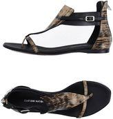 CNC Costume National Thong sandals