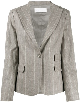 Fabiana Filippi Three Pocket Striped Blazer
