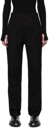 Ambush Black Panel Trousers