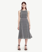 Ann Taylor Double Eyelet Dress