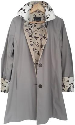 Dennis Basso Grey Coat for Women Vintage
