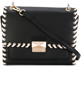 Karl Lagerfeld stitched shoulder bag - women - Leather/Polyurethane - One Size