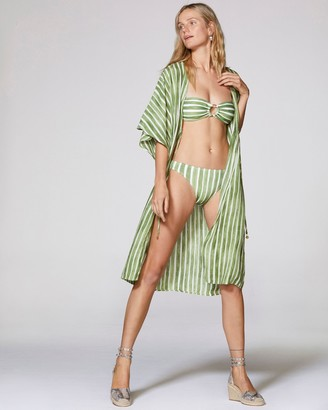Vince Camuto Striped Kimono Cover-up