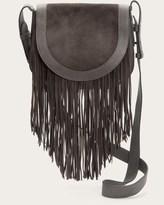 Frye Ray Fringe Saddle