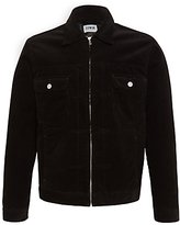 Edwin Panhead Zip Flap Jacket, Black