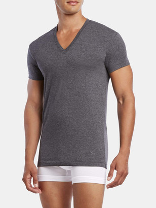 2xist Pima Flex Deep V-Neck T-Shirt