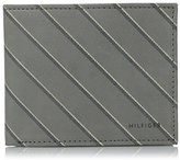 Tommy Hilfiger Men's School Boy-Stripe Double Billfold