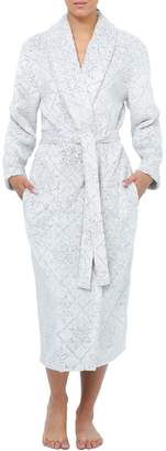 Jasmine Rose Vintage Shawl Collar Wrap Robe