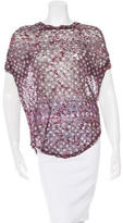 Etoile Isabel Marant Sheer Printed T-Shirt