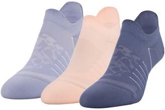 Under Armour Women's UA Breathe No Show Tab 3-Pack Socks