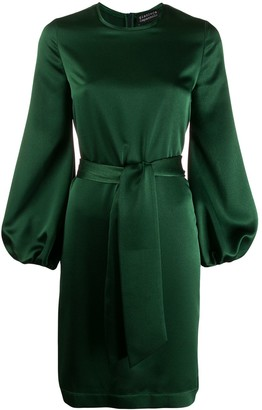 Gianluca Capannolo Satin Shift Dress