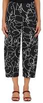 Zero Maria Cornejo WOMEN'S MARGOT ABSTRACT-JACQUARD CROP PANTS
