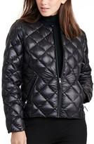 Lauren Ralph Lauren Women's Quilted Collarless Down Jacket