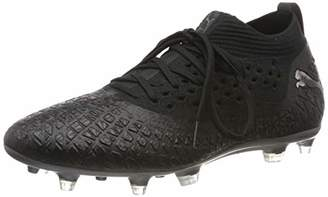 Puma Men's Future 4.2 Netfit FG Football Boots, Black Aged Silver, 44.5 EU