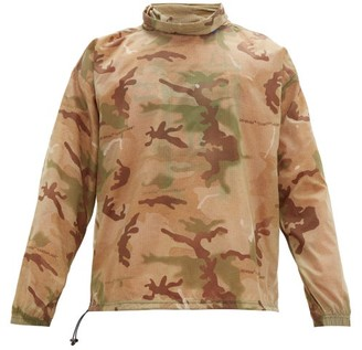 Off-White Off White Puzzle Fun Camouflage Print Ripstop Pullover - Mens - Multi