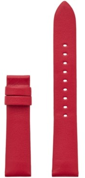 Michael Kors Women's Sofie Interchangeable Red Leather Smart Watch Strap