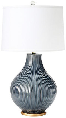 Santa Barbara Table Lamp - Midnight Blue - BURKE & OATES