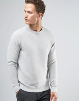 Celio 100% Cotton Knitted Jumper With Horizontal Rib