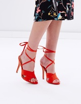 Spurr Alicia Lace-Up Heels