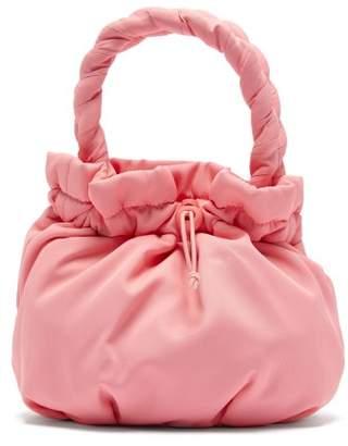 STAUD Stella Plaited-handle Drawstring Bag - Womens - Pink