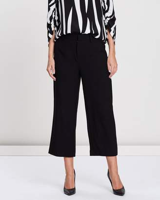 Privilege High-Waisted Cropped Trousers