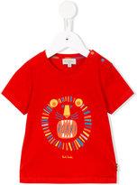 Paul Smith lion print T-shirt