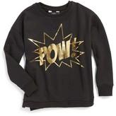 Eleven Paris Boy's Little Elevenparis Brooke Pow Graphic Sweatshirt