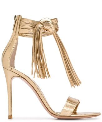 Gianvito Rossi Ric 105mm knot detail sandals