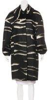 Jil Sander Oversize Mohair-Blend Coat