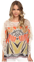 Hale Bob Oasis In The City Butterfly Sleeve Blouse