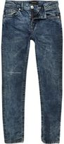 River Island Boys blue Sid skinny jeans