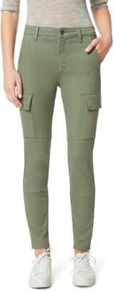Joe's Jeans Charlie High Waist Cargo Ankle Skinny Jeans